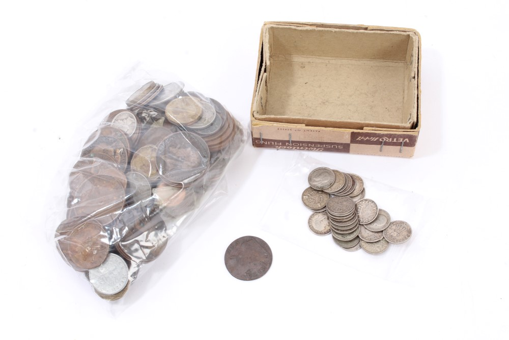 Lot 50 - World - mixed coinage - to include a small quantity of G.B.