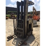 """Crown RR3020-35 reach truck. 210"""" lift. 36v, No battery or forks, Fully operational when battery..."""