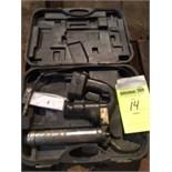 OEM 87106, 18v grease gun. No charger. 1 battery, serial 060310