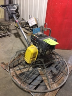 Wacker CT48 trowel machine, Honda GX 240 motor,