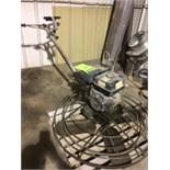 Whiteman MultiQuip trowel machine, Honda GX 240/8 hp motor