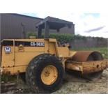 Caterpillar CS-563C Smooth Drum Roller, Diesel, 3517 hours listed, Equipment # 4KN00455