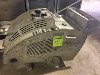 Soff-Cut GX-4000 walk behind, concrete saw. gas, serial #0459, 20 hp Honda, 2476 hours listed)