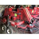 Allen Engineering Hydra-Drive Series HD550 riding trowel(diesel,378 hours,2500 lbs,serial5501104003)