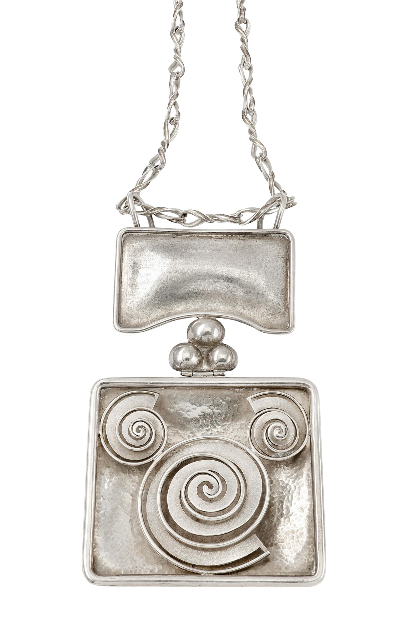 Lot 52 - A pendant, by Lalaounis, circa 1970