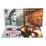 Vinyl - Five Edgar Broughton Band LPs to include Oora on Harvest stereo SHVL810 (in art bag), Wasa