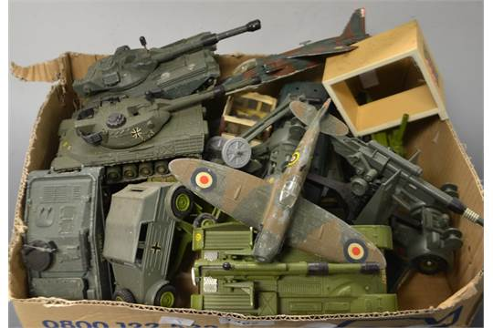 Toys and Juvenalia - Die Cast Models - Dinky Toys Alvis, Scorpion
