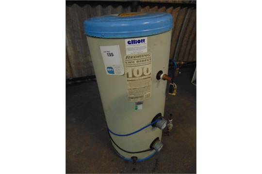 Redring LWC Direct Unvented Hot Water Storage System 100ltre ...