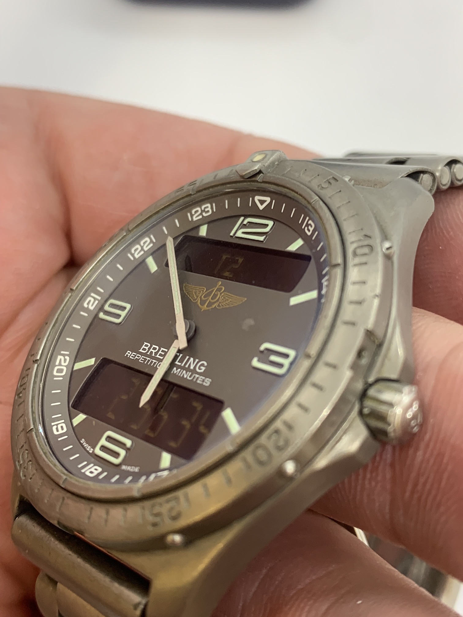 BREITLING TITANIUM WATCH A/F - Image 14 of 15