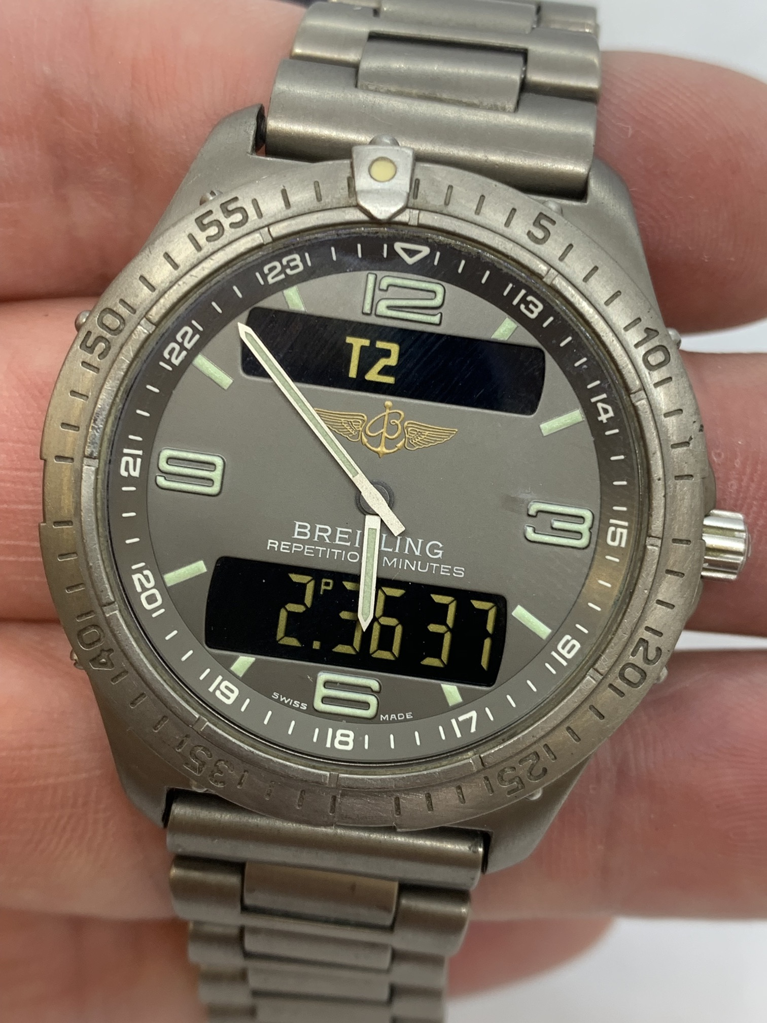 BREITLING TITANIUM WATCH A/F - Image 15 of 15