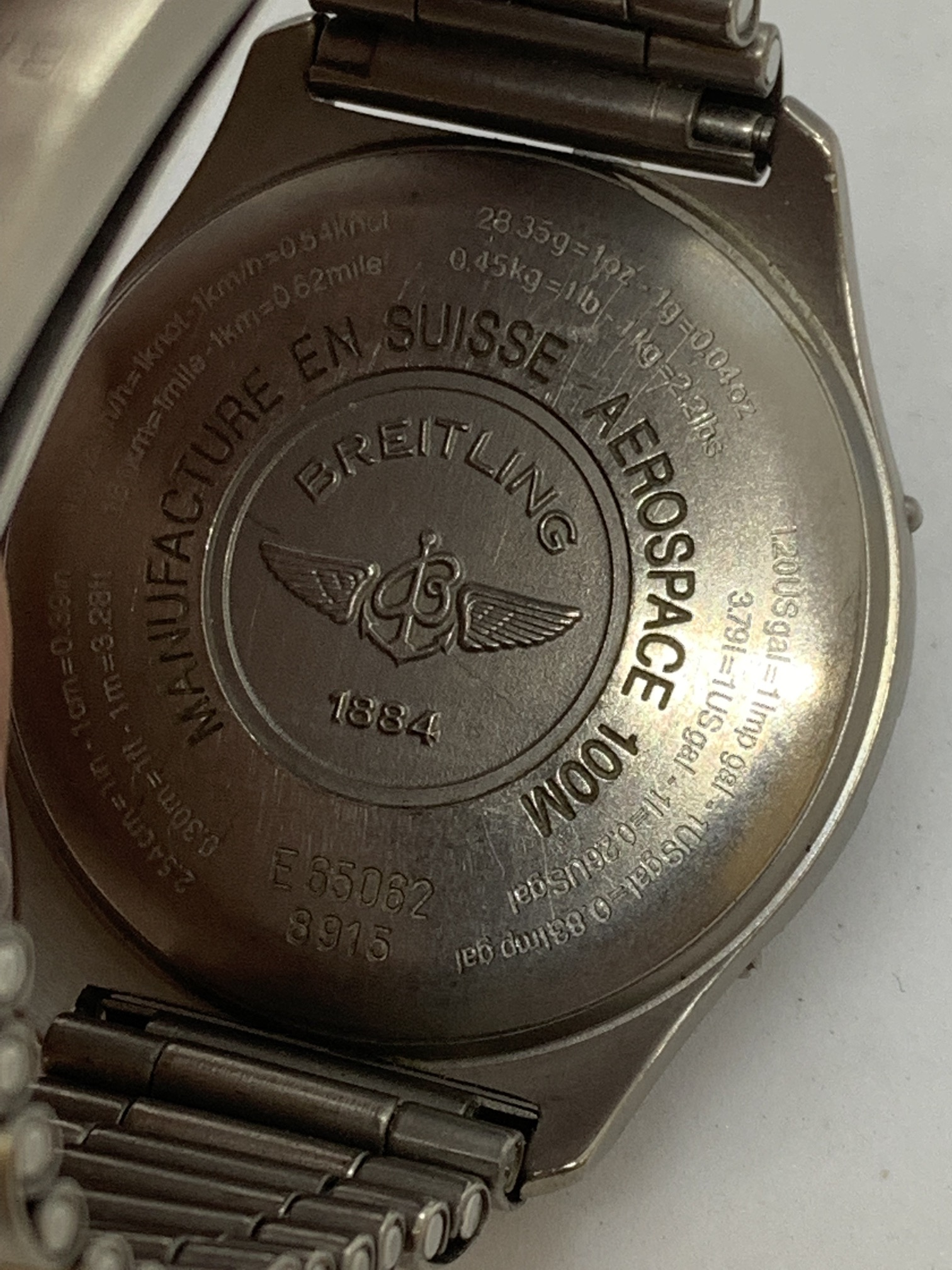 BREITLING TITANIUM WATCH A/F - Image 10 of 15