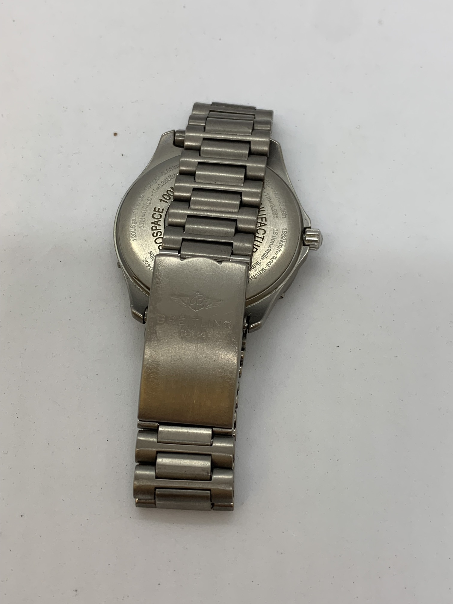 BREITLING TITANIUM WATCH A/F - Image 12 of 15