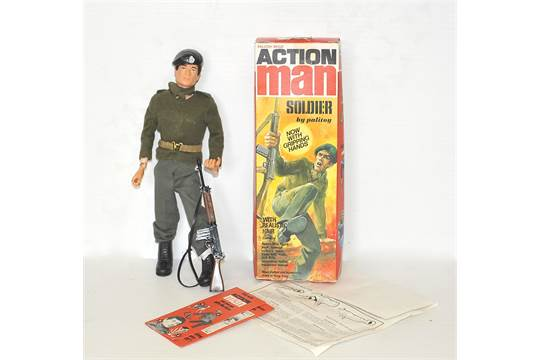 1970s Action Man Soldier Reference 918500 Complete Outfit And