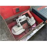 Milwaukee Mdl. 6230 Portable Band Saw with Case (All Items MUST be Removed by Thursday, December 19,