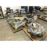 Lot with (7) Pallets including Various Spools of Wire and Cable (All Items MUST be Removed by