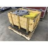 Wood Crate full of Various Cables (All Items MUST be Removed by Thursday, December 19, 2019. Buyer