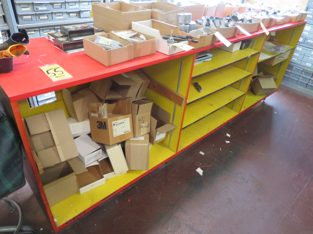 10' X 2' WOODEN COUNTER UNIT