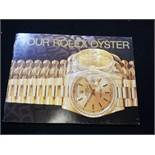 Rolex oyster booklet dated 1996