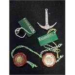 Rolex 300m oyster submariner anchor t/w 2 x price tags & 2 x swing tags