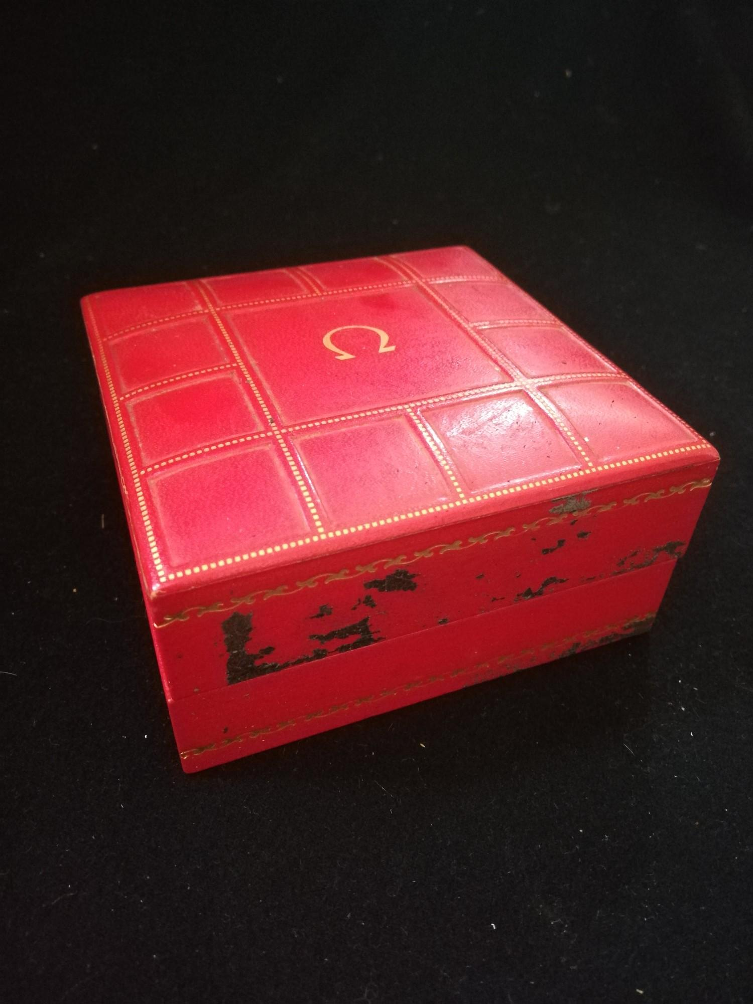Vintage Omega high precision watch box