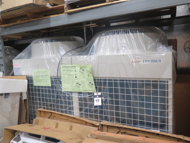 Lot 45 - Mitsubishi VRF Series PURY-P204TGMU-A 17 Ton Heat Pump (Outdoor Unit)