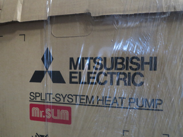 Lot 34 - Mitsubishi PUZ-A24NHA6 Split System Heat Pump w/ PKA-A24KA6TH Ceiling Mounted Blower 208/230V-1ph