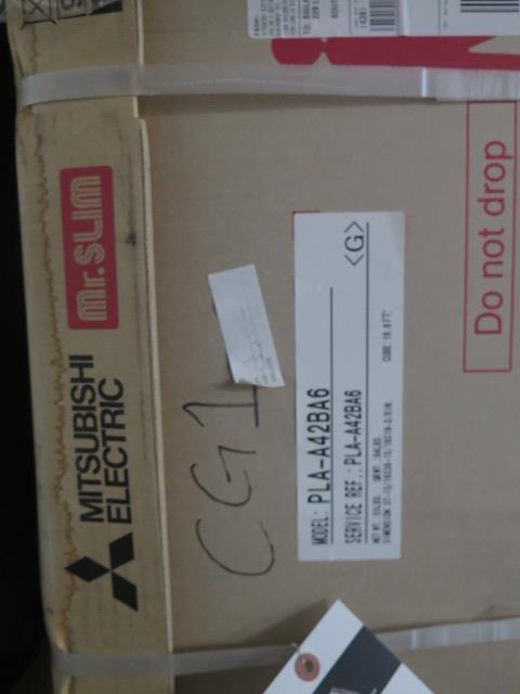 Lot 54 - Mitsubishi PLA-A42BA6 Ceiling Cassette