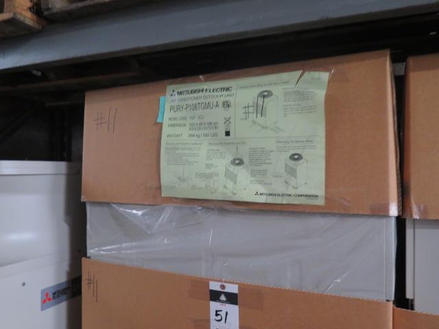 Lot 51 - Mitsubishi VRF Series PURY-P108TGMU-A 9 Ton Heat Pump (Outdoor Unit)