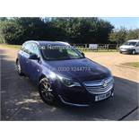 VAUXHALL INSIGNIA ESTATE 2.0 CDTI ECOFLEX DESIGN (2014) **1 KEEPER FROM NEW** FULL HISTORY