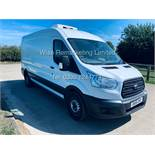 **RESERVE MET** FORD TRANSIT 350 LWB 2.2 FRIDGE VAN (2015) GAH UNIT WITH 2 COMPARTMENTS **SAT NAV**