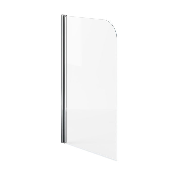 Lot 43 - (XX29) 750mm Bath Shower Screen . RRP £149.99. Great addition to your shower bath 4mm tempere...