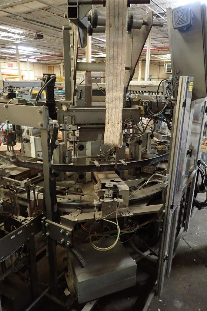 Lot 36 - Thiele Special IM Cartoner/Bagger, rotary style, touch screen controls **Rigging FEE: $200 **