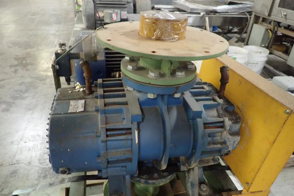 Lot 24 - Rotary lobe blower package, Robuschi rotary lobe blower, Model RB50C/V, SN L8616 **Rigging FEE: $50
