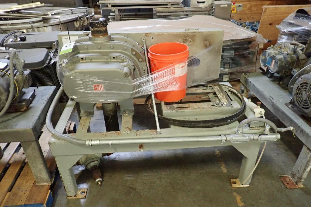 Lot 19 - Xchanger rotary lobe blower, Model 8HF/40HP, SN 1082 B876(9), missing motor **Rigging FEE: $50 **