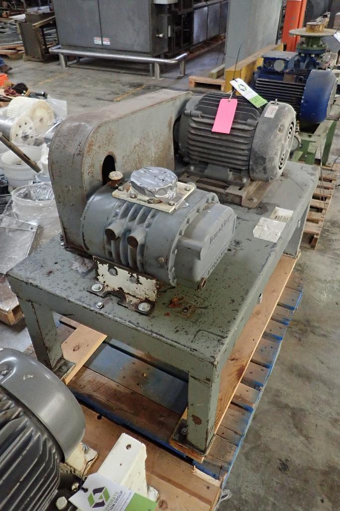 Lot 23 - Schwitzer rotary lobe blower, Model 156630, SN B2879-03, Duraflo rotary lobe blower Model 4056VT, SN