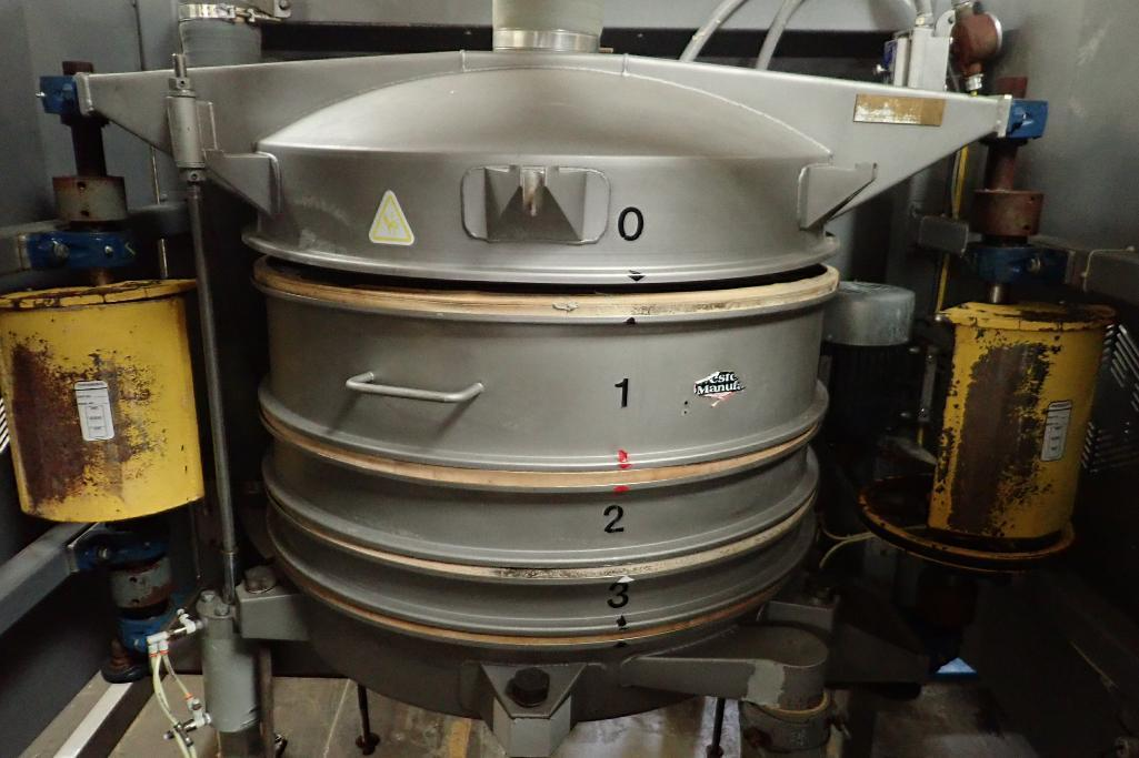 Lot 26 - 2012 Great Western 36 in. sifter, Model QA36, Type TB, Shop number 5874 **Rigging FEE: $150 **