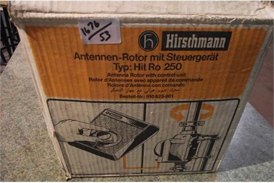 HIRSCHMANN ANTENNER ROTOR WITH CONTROL UNIT TYPE HIT RO 250
