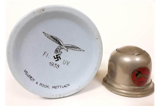 A German WWII Nazi Luftwaffe mug by Villeroy & Boch