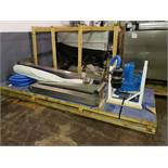 Palmatic gantry vacuum lift assist unit, model PalPharma Vac, stainless steel frame, 120 kg lift