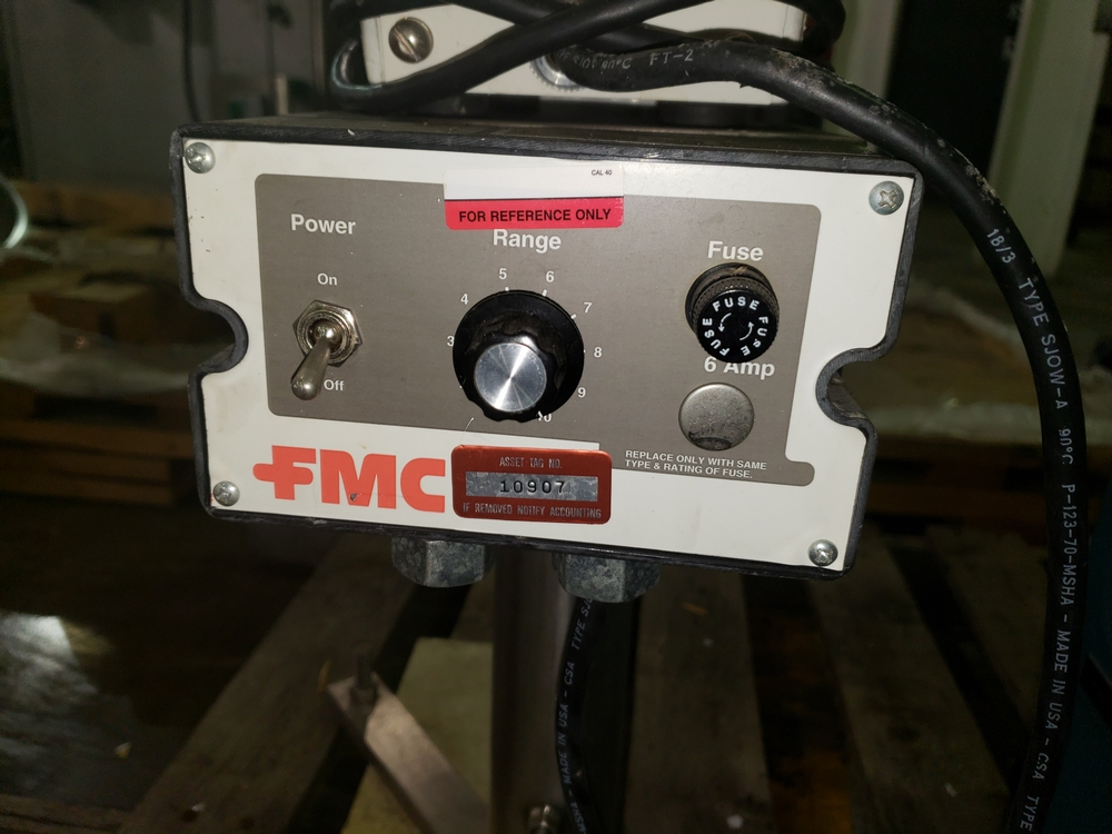 FMC Syntron magnetic feeder, model CSCR-1B-1, 115 volt, 50/60 hz, serial# P30596. - Image 5 of 6