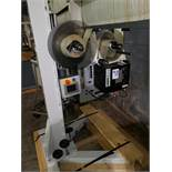 Weber print and apply labeler, model 5300, type LEGI-Air with Weber printer on stand, serial#