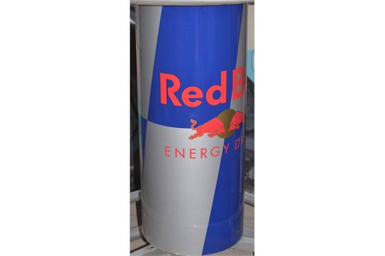 1 x genuine red bull round bar table rare table from red bull previous watchthetrailerfo