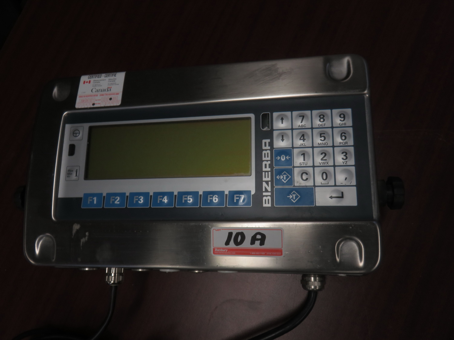 BIZERBA ST-60KG CAP DIGITAL SCALE READOUT (DRO ONLY - NO SCALE) - Image 2 of 2