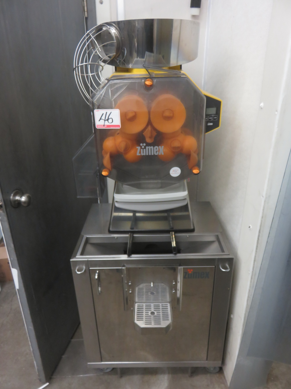 2016 ZUMEX SPEED PRO BASIC 115V ORANGE JUICING MACHINE