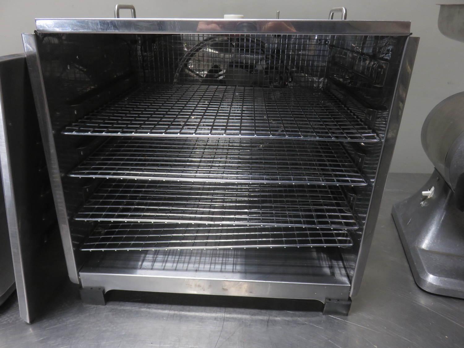OMCAN 10924 STAINLESS FOOD DEHYDRTOR (110V) W/ 4-SHELVES - Image 2 of 3