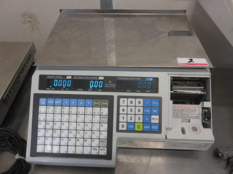 "CAS LPI-6 15KG 10"" X 15"" DIGITAL PRICE COMPUTING SCALE"