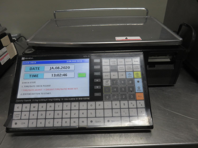 ISHIDA UNI-5 15KG DIGITAL PRICE COMPUTING SCALE