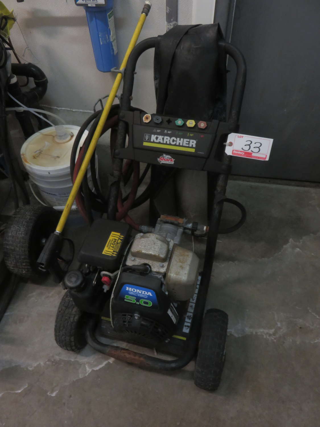 KARCHER 5HP GAS PRESSURE WASHER