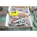 LARGE QUANTITY OF SHACKLES