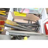 LARGE QUANTITY OF LARGE ALLEN WRENCHES